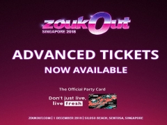 Get your Advanced Tickets for ZoukOut 2018 from S$133.20 with DBS Card