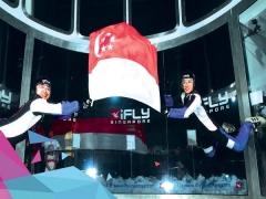 iFly Singapore Celebrates Singapore's 53rd Birthday