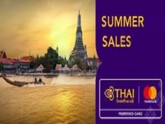 Summer Sale Exclusive for MasterCard Members in Thai Airways