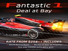 Fantastic 1 Deal @ Bay - Special Offer for F1 Singapore Season