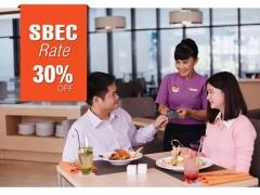 Save 30% off Best Flexible Rate at Swiss-belhotel Harbour Bay Batam