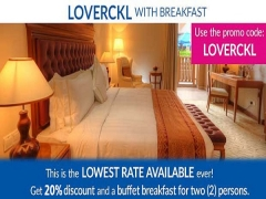 Use LOVERCKL Code for Stay with Breakfast in The Royale Chulan Kuala Lumpur