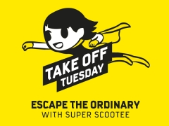 Escape the Ordinary this Tuesday with Scoot Sale from 7AM till 2PM