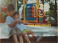 WIN a Staycation as you Celebrate the 10th Birthday of Concorde Hotel Singapore