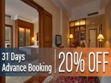 31 Days Advance Booking (20% discount) from Room Only Rates in The Royale Chulan Kuala Lumpur