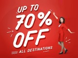 Enjoy up to for 70% Savings in Air Asia Fare for all Destinations