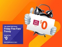 Club Jetstar Early Access to Fare Sale from SGD $0
