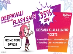 Deepavali Flash Sale - Enjoy Up to 35% Off Admission Ticket to KidZania Kuala Lumpur