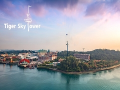 20% OFF Admission Tickets to Tiger Sky Tower with NTUC Card