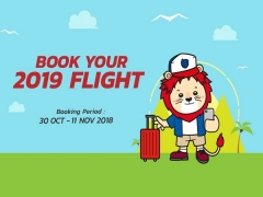 Get Ready for 2019 - Book your Flight to Bangkok from SGD75 with Thai Lion Air