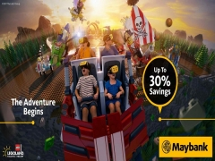Up to 30% on your Entrance Tickets to LEGOLAND® Malaysia with Maybank