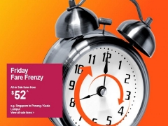 Friday Fare Frenzy in Jetstar is Up Again with Flights from SGD52