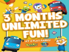 3 Month Unlimited Fun in Pororo Park Singapore and Tayo Station