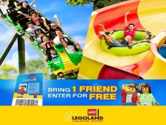 One Friend to Enter for FREE* in Legoland Malaysia for Premium Pass Holder