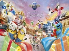 A Universal Christmas in Resorts World Sentosa