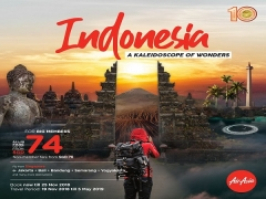 Fly to Indonesia with Air Asia from SGD74