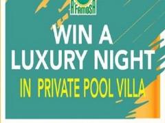 WOW! #JomAfamosa & Win Private Pool Villa Stay Voucher