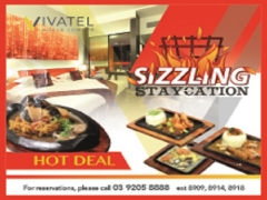 Sizzling Staycation from RM225 at Vivatel Kuala Lumpur