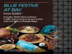 Blue Festive at Bay Hotel Singapore from SGD260
