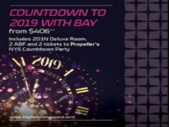Countdown to 2019 Staycation at Bay Hotel Singapore from SGD406