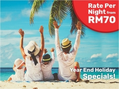 Year-End Holiday Special at Tune Hotels Properties from RM70 per Night