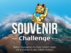 Souvenir Challenge - WIN Two Flight Tickets from KLM Royal Dutch Airlines