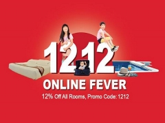 12.12 Online Fever - Enjoy 12% Off Room Rates in A'Famosa Resort