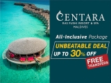 Paradise for up to 30% Less in Centara's Ras Fushi Resort & Spa