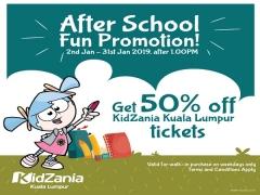 After School Fun Promotion in KidZania Kuala Lumpur