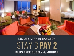 Stay 3 Nights and Pay 2 in Centara Grand at CentralWorld