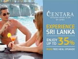 Free Meal Plan Upgrades and Up to 35% Off Room Rate in Centara Ceysands Resort & Spa Sri Lanka