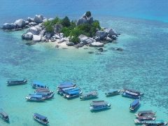 Fly with Garuda Indonesia for a Sweet Honeymoon in Belitung