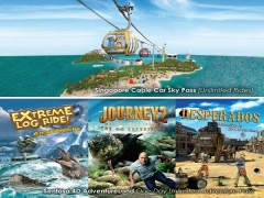 Fly and Get Adventurous with DBS Card on Cable Car and Sentosa 4D AdventureLand
