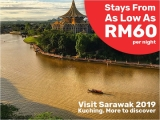 Visit Sarawak and Stay at Tune Hotel Waterfront Kuching from RM60