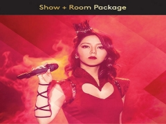 G.E.M. Queen of Hearts World Tour Live in Genting 2019 Package in Resorts World
