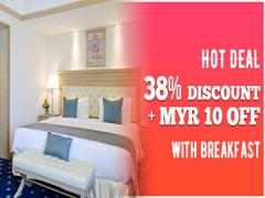 Hot Deal with Breakfast at 38% Off in Royale Chulan Penang