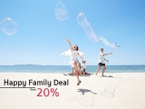 Happy Family Deal: Save Up to 20% on your Stay in Centara Koh Chang Tropicana Resort
