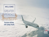 Special all-in Fares to Over 50 Destinations with Citibank and Cathay Pacific