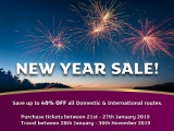 New Year Sale: Up to 40% Savings on Flights with Air Niugini