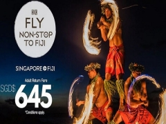 Fly from Singapore to Fiji, New Zealand and Pacific Islands with Fiji Airways