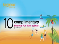 Complimentary 10 Token Fun Pass (worth $10) with NTUC Card