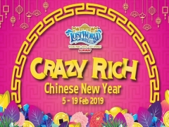 Crazy Rich CNY Promo: Fortune X-press Combo at Sunway Lost World of Tambun