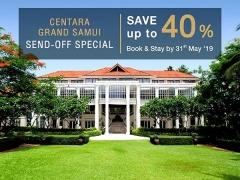 Centara Grand Beach Resort Samui offer with Up to 40% Savings