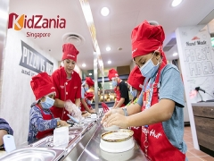 10% OFF Adult and Kid Tickets to KidZania Singapore with NTUC Card