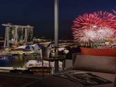 Fireworks by the Bay 2019 at Pan Pacific Singapore