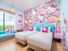 Hello Kitty Themed Room Package at Hotel Jen Puteri Harbour, Johor