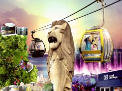 Up to 20% Off One Faber Group Attraction Pass with Maybank, UOB, and HSBC