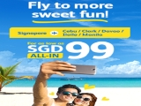 Fly to the Philippines with Cebu Pacific from SGD99