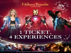20% off Full Experience Admission Tickets to Madame Tussauds Singapore with Maybank
