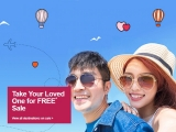 Take your Loved One for FREE* Sale with Jetstar